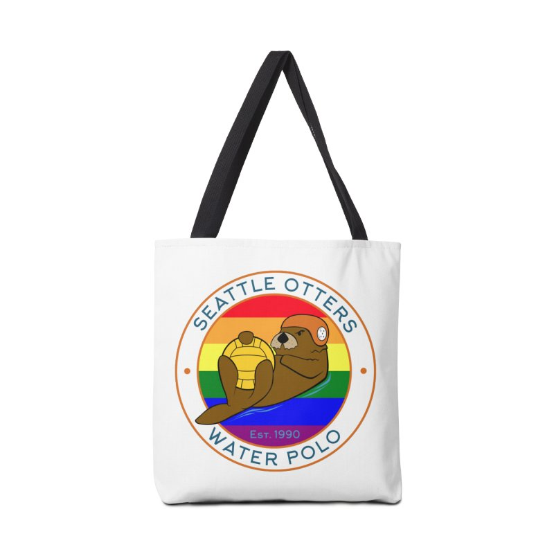 Otters Pride Accessories Tote Bag Bag by Seattle Otters Water Polo