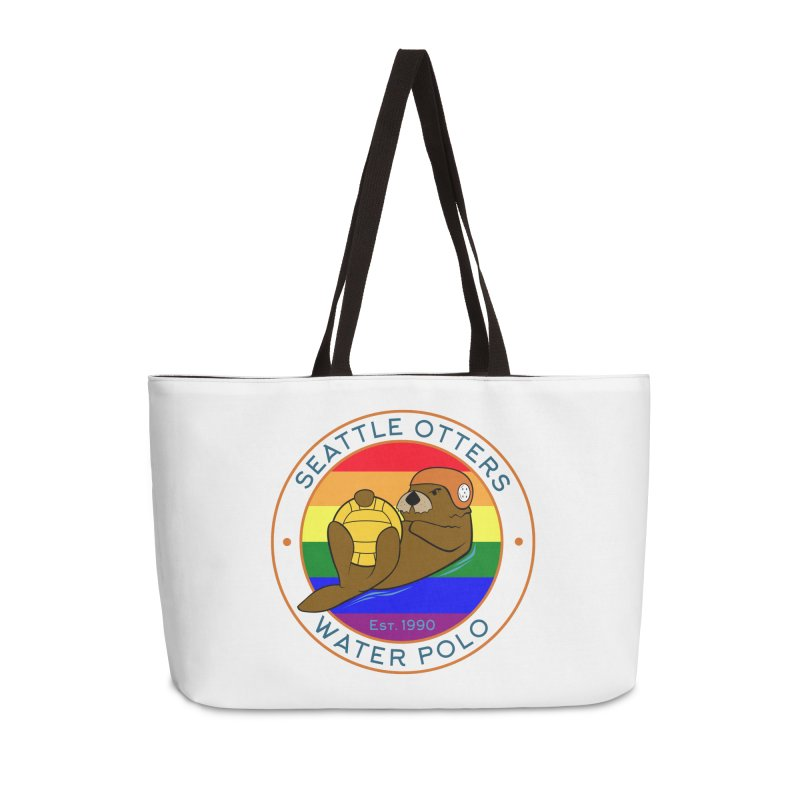 Otters Pride Accessories Weekender Bag Bag by Seattle Otters Water Polo