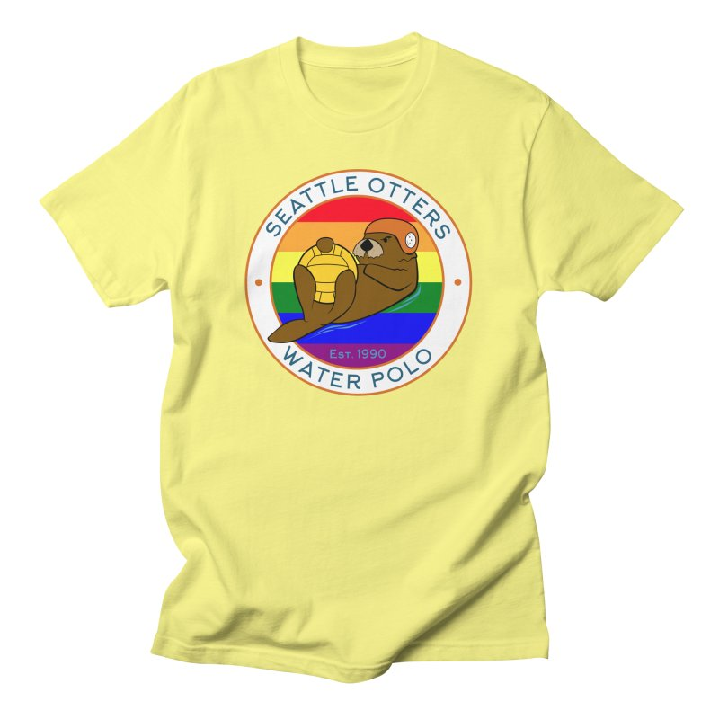 Otters Pride Women's T-Shirt by Seattle Otters Water Polo