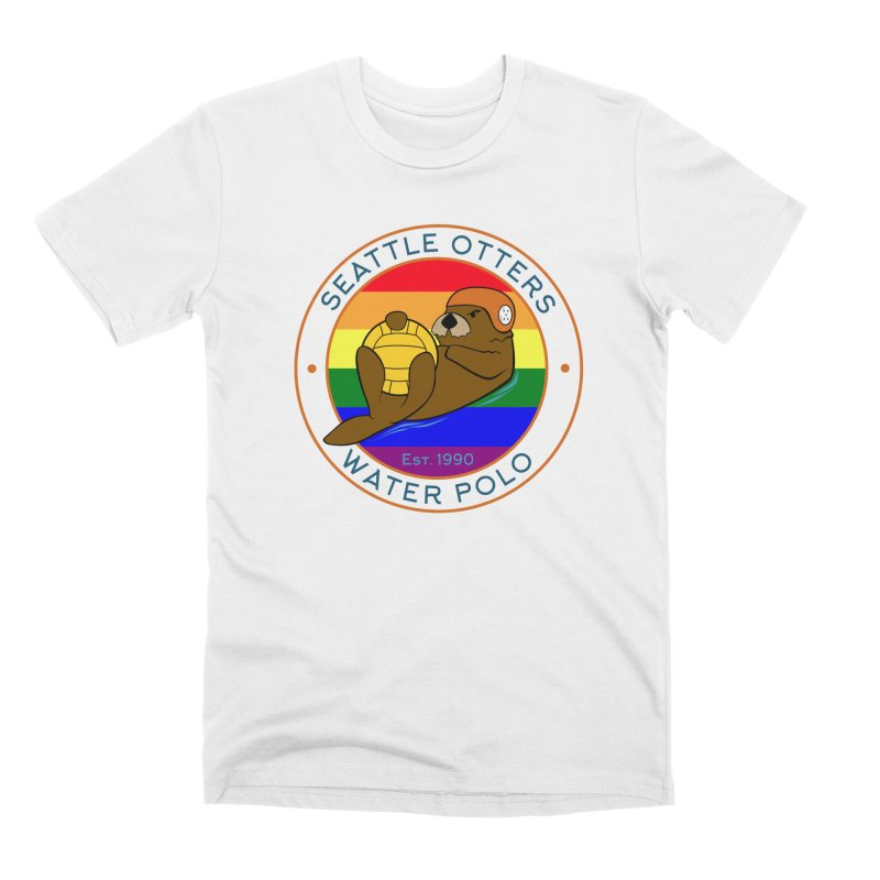 Otters Pride Men's T-Shirt by Seattle Otters Water Polo