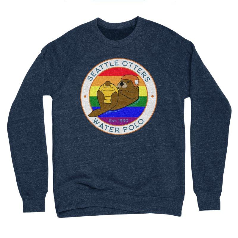 Otters Pride Women's Sponge Fleece Sweatshirt by Seattle Otters Water Polo