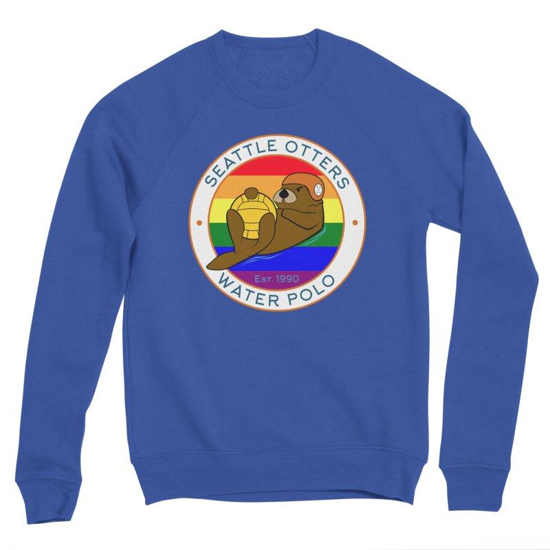 Otters Pride Men's Sponge Fleece Sweatshirt by Seattle Otters Water Polo