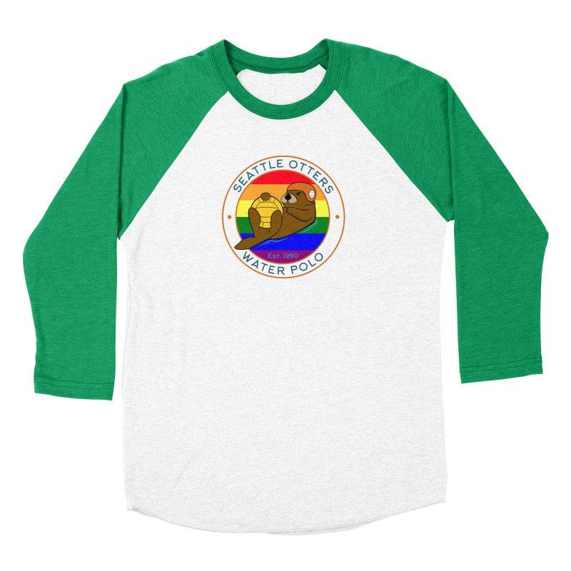 Otters Pride Women's Longsleeve T-Shirt by Seattle Otters Water Polo