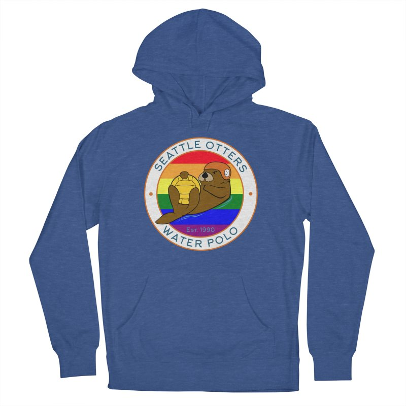 Otters Pride Men's French Terry Pullover Hoody by Seattle Otters Water Polo