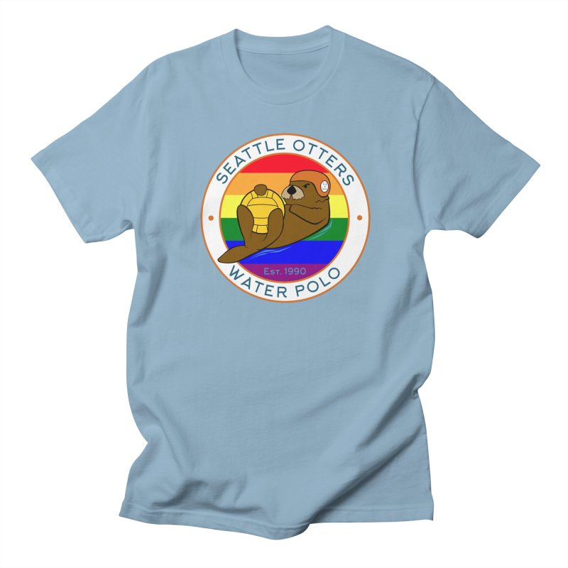 Otters Pride Women's Regular Unisex T-Shirt by Seattle Otters Water Polo