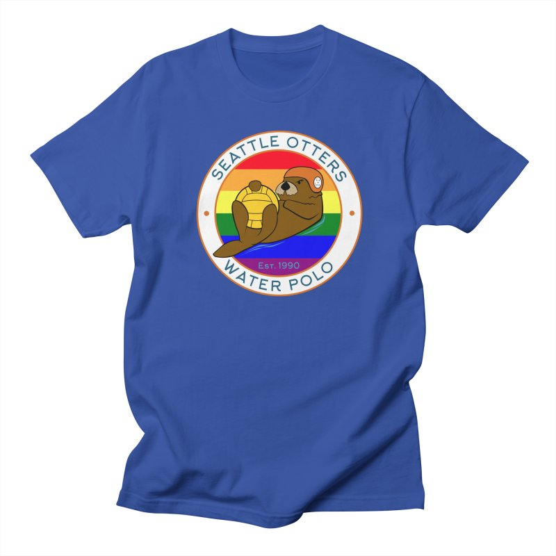 Otters Pride Men's Regular T-Shirt by Seattle Otters Water Polo