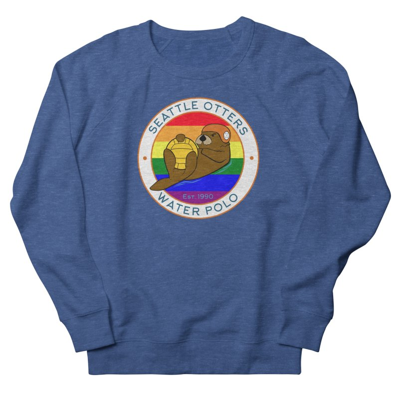 Otters Pride Men's French Terry Sweatshirt by Seattle Otters Water Polo