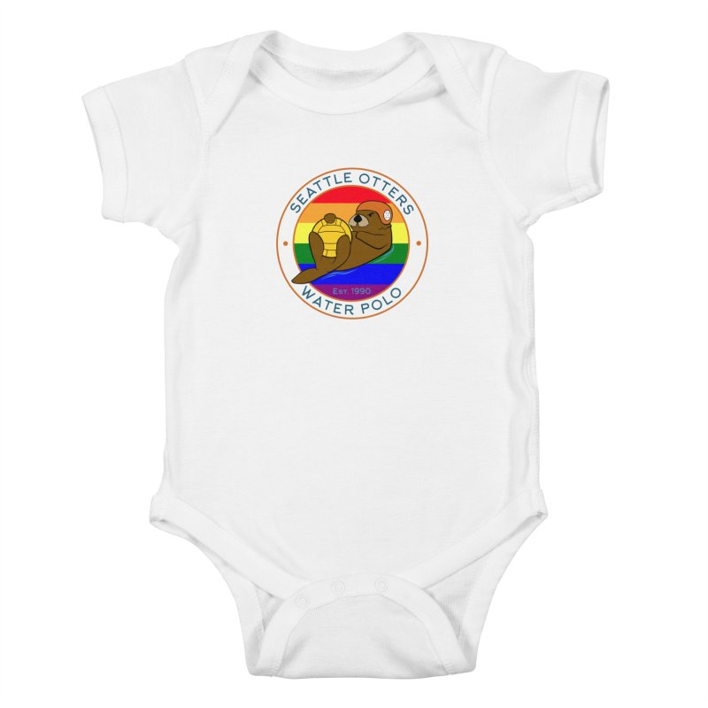 Otters Pride Kids Baby Bodysuit by Seattle Otters Water Polo