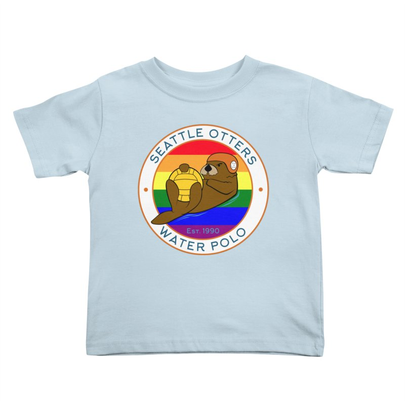 Otters Pride Kids Toddler T-Shirt by Seattle Otters Water Polo