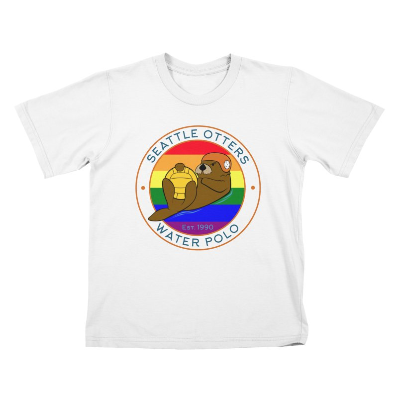 Otters Pride Kids T-Shirt by Seattle Otters Water Polo