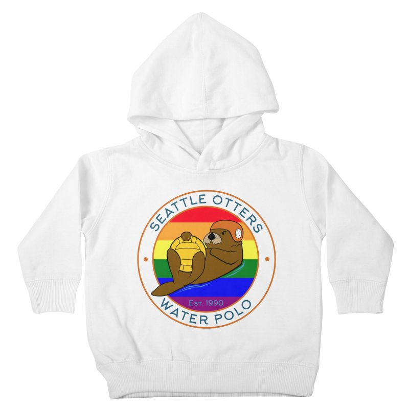 Otters Pride Kids Toddler Pullover Hoody by Seattle Otters Water Polo