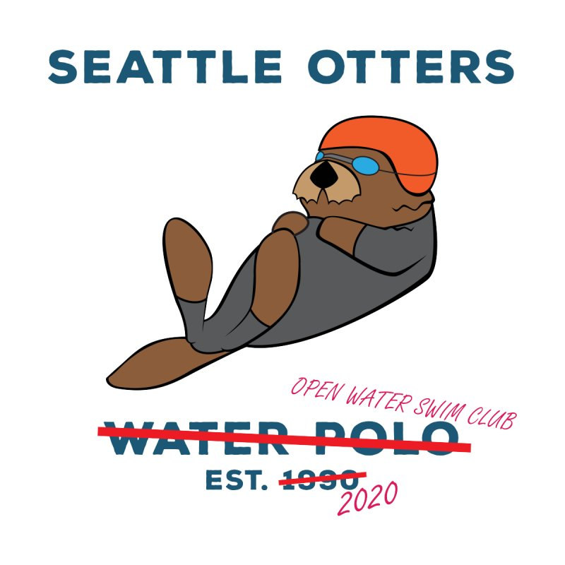 Open Water Men's T-Shirt by Seattle Otters Water Polo