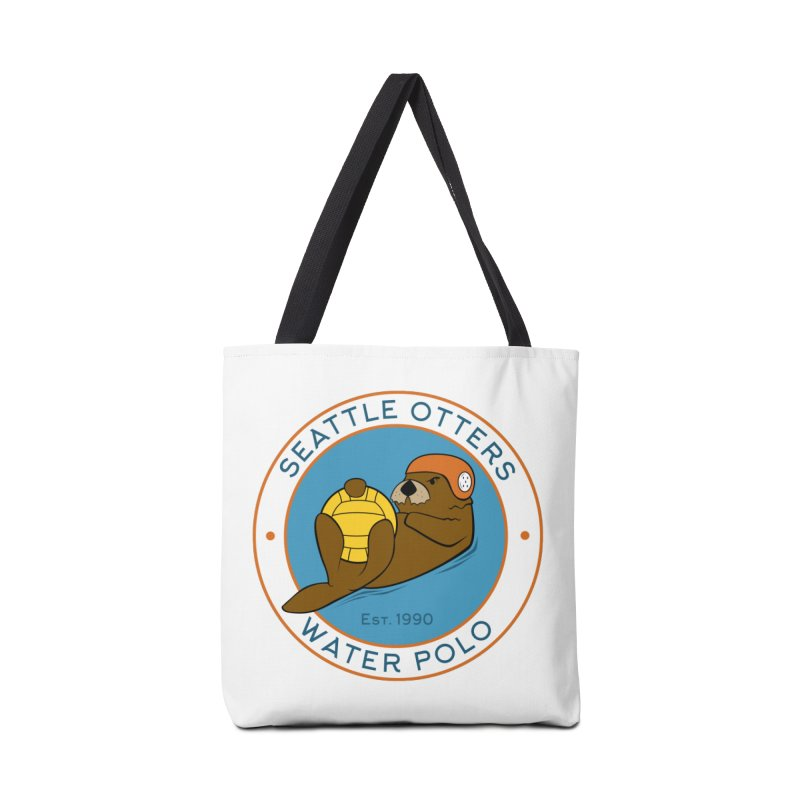 Otters Logo Accessories Tote Bag Bag by Seattle Otters Water Polo