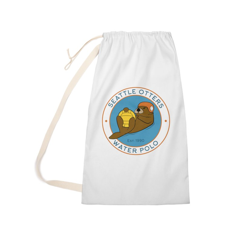 Otters Logo Accessories Laundry Bag Bag by Seattle Otters Water Polo