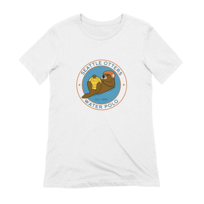 Otters Logo Women's Extra Soft T-Shirt by Seattle Otters Water Polo