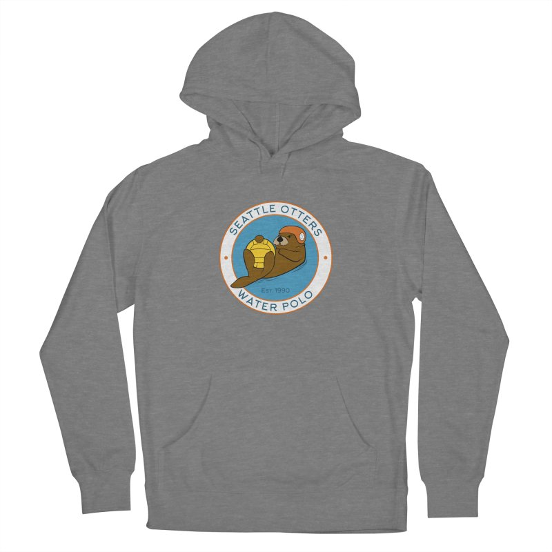 Otters Logo Women's Pullover Hoody by Seattle Otters Water Polo