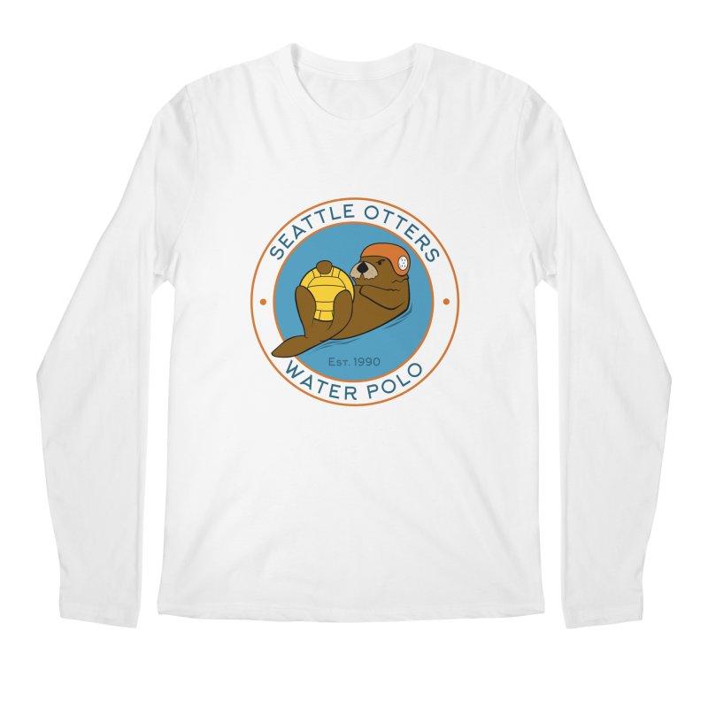 Otters Logo Men's Longsleeve T-Shirt by Seattle Otters Water Polo