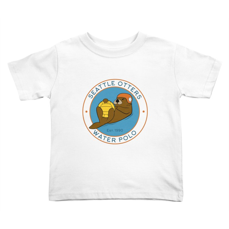 Otters Logo Kids Toddler T-Shirt by Seattle Otters Water Polo
