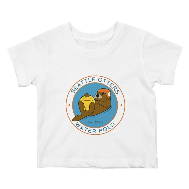 Otters Logo Kids Baby T-Shirt by Seattle Otters Water Polo
