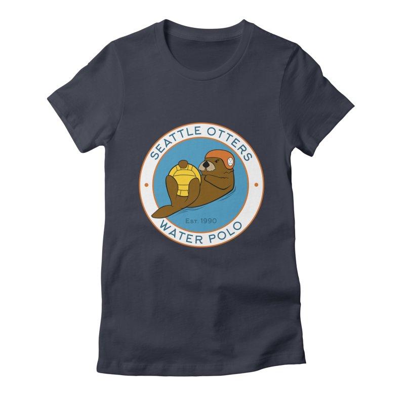 Otters Logo Women's T-Shirt by Seattle Otters Water Polo