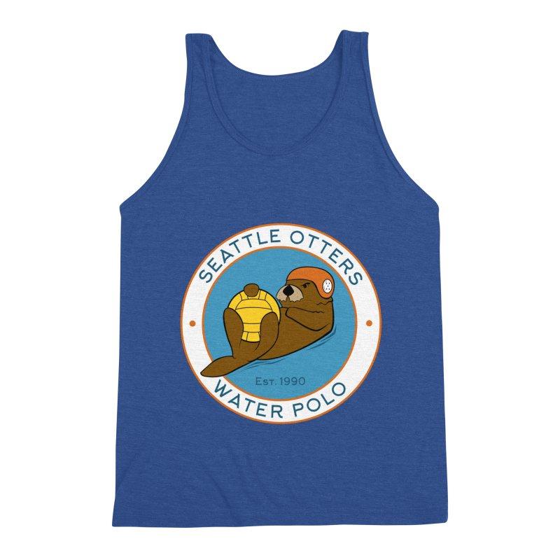 Otters Logo Men's Tank by Seattle Otters Water Polo