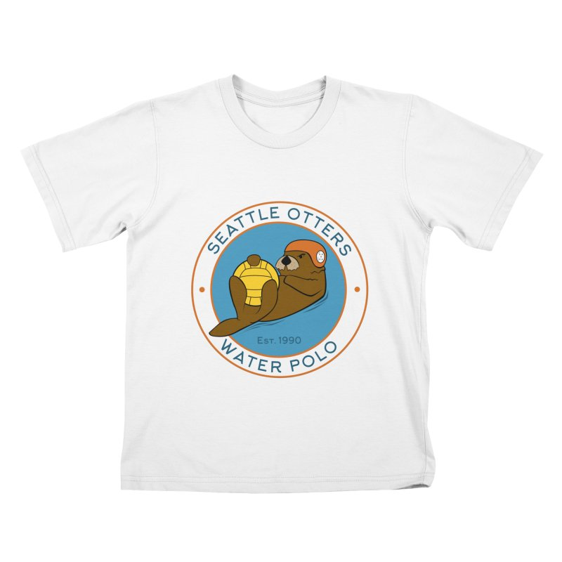 Otters Logo Kids T-Shirt by Seattle Otters Water Polo