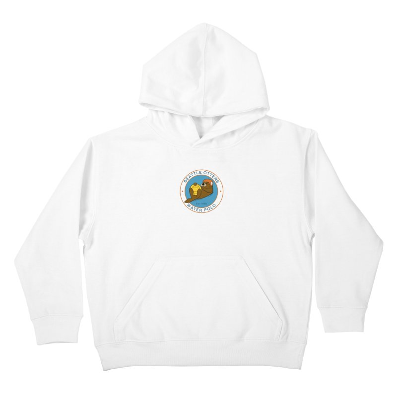 Otters Logo Kids Pullover Hoody by Seattle Otters Water Polo