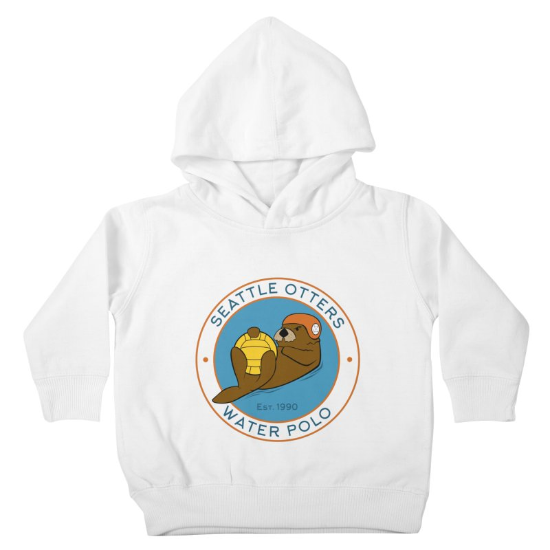 Otters Logo Kids Toddler Pullover Hoody by Seattle Otters Water Polo