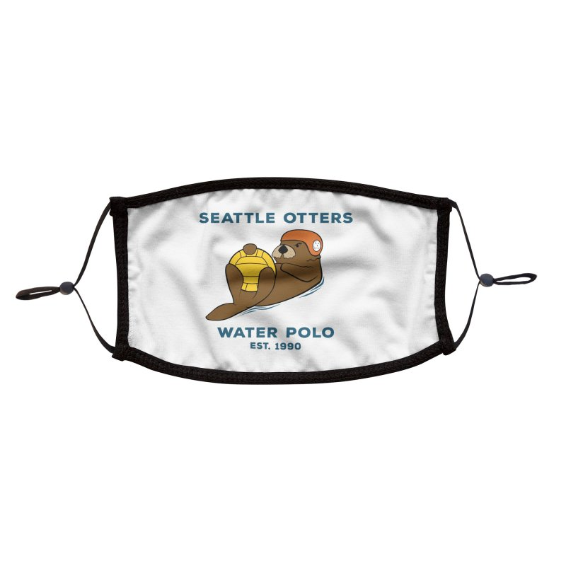 Otters Alternate Accessories Face Mask by Seattle Otters Water Polo