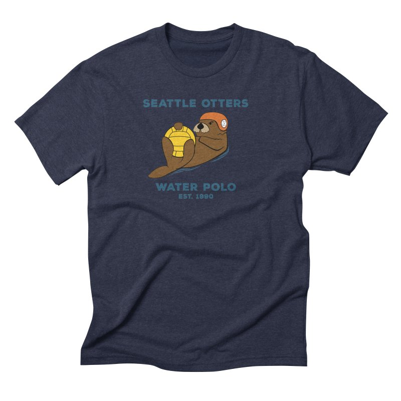 Otters Alternate Men's T-Shirt by Seattle Otters Water Polo