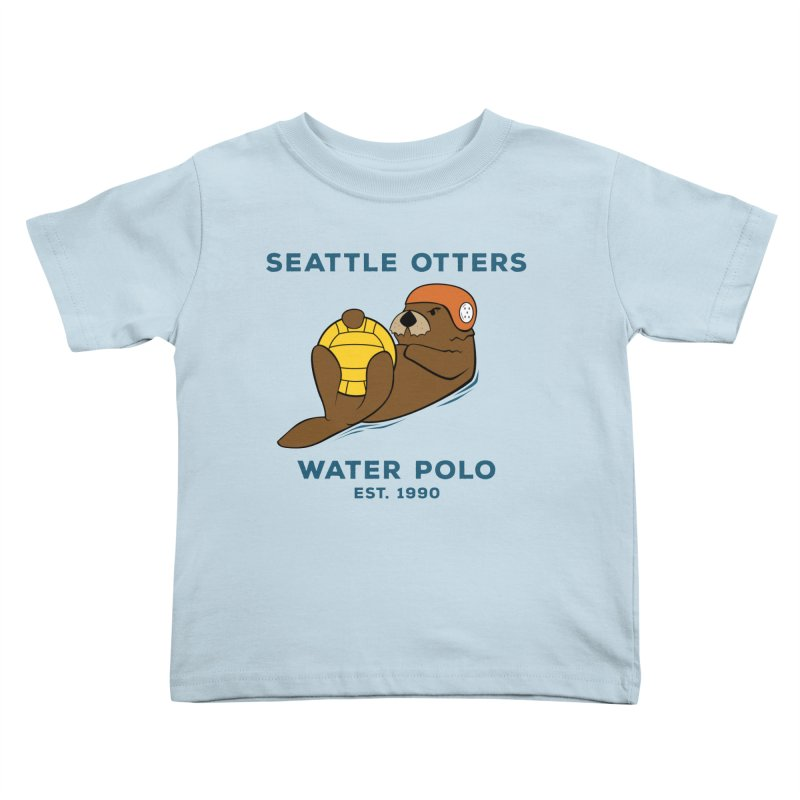 Otters Alternate Kids Toddler T-Shirt by Seattle Otters Water Polo
