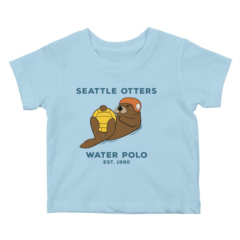 Otters Alternate Kids Baby T-Shirt by Seattle Otters Water Polo