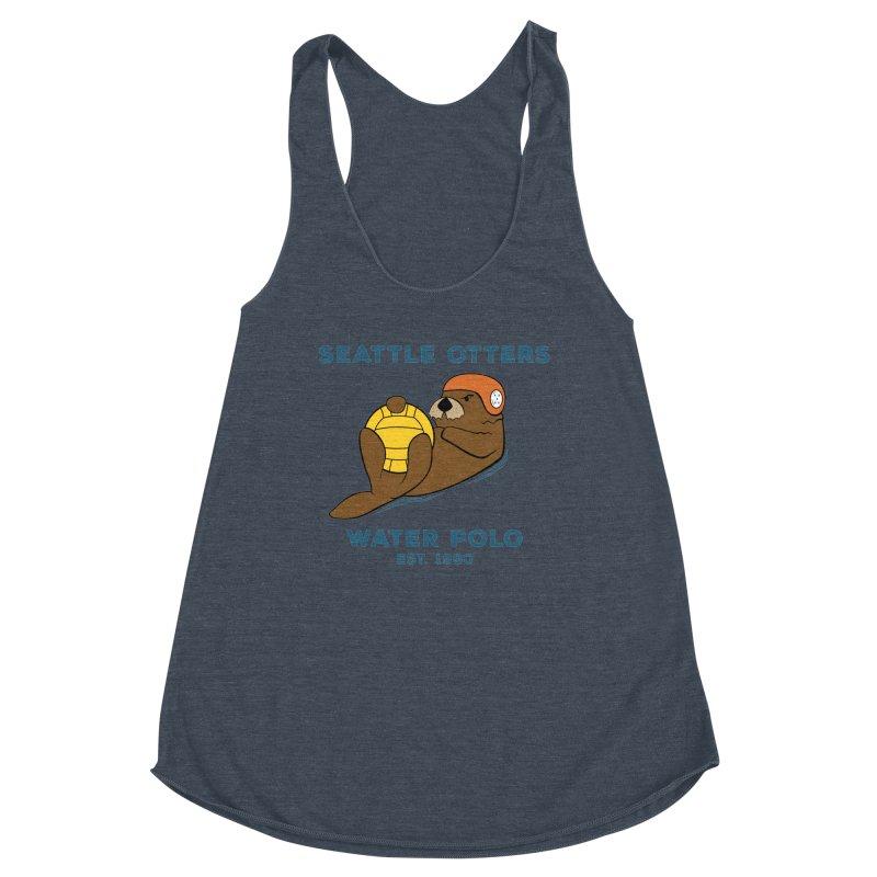 Otters Alternate Women's Tank by Seattle Otters Water Polo