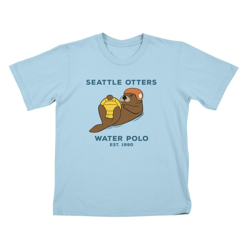 Otters Alternate Kids T-Shirt by Seattle Otters Water Polo