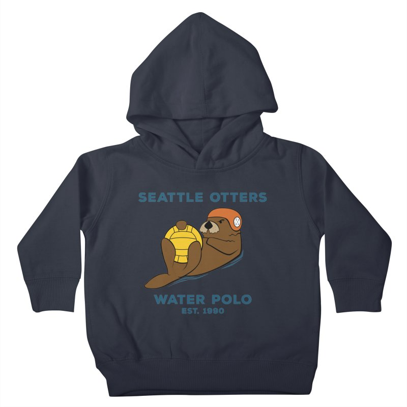 Otters Alternate Kids Toddler Pullover Hoody by Seattle Otters Water Polo