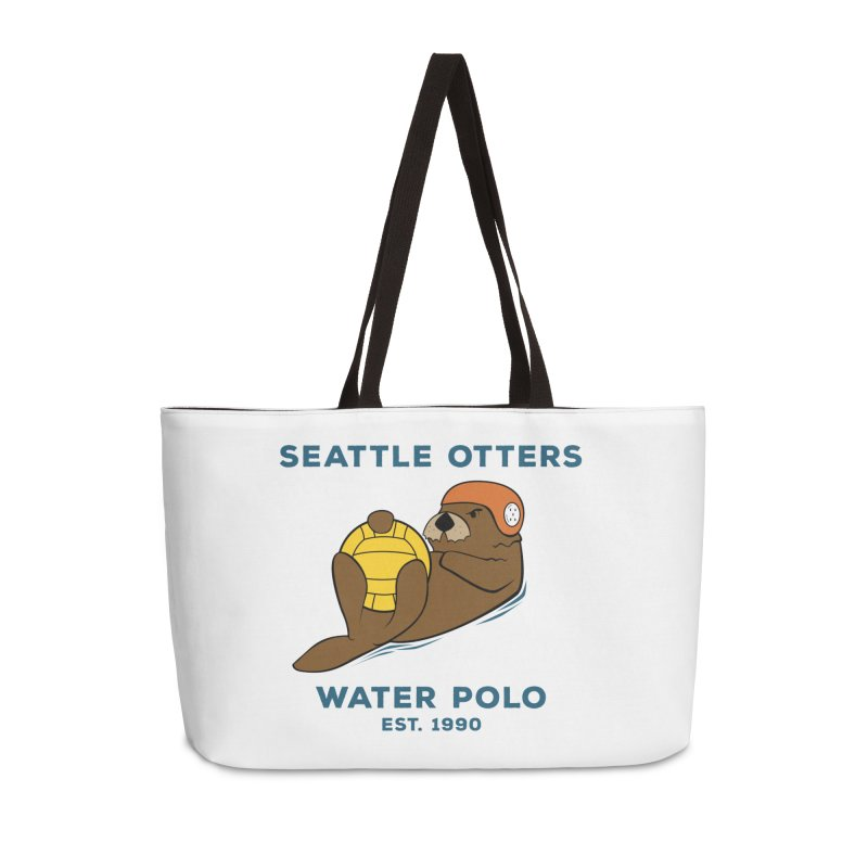 Otters Alternate Accessories Weekender Bag Bag by Seattle Otters Water Polo