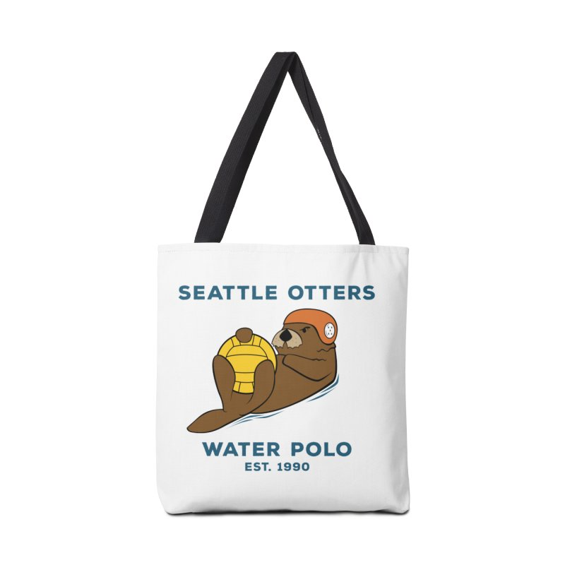 Otters Alternate Accessories Tote Bag Bag by Seattle Otters Water Polo