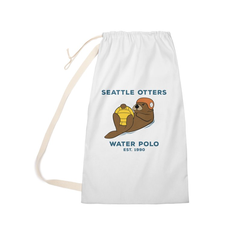 Otters Alternate Accessories Laundry Bag Bag by Seattle Otters Water Polo