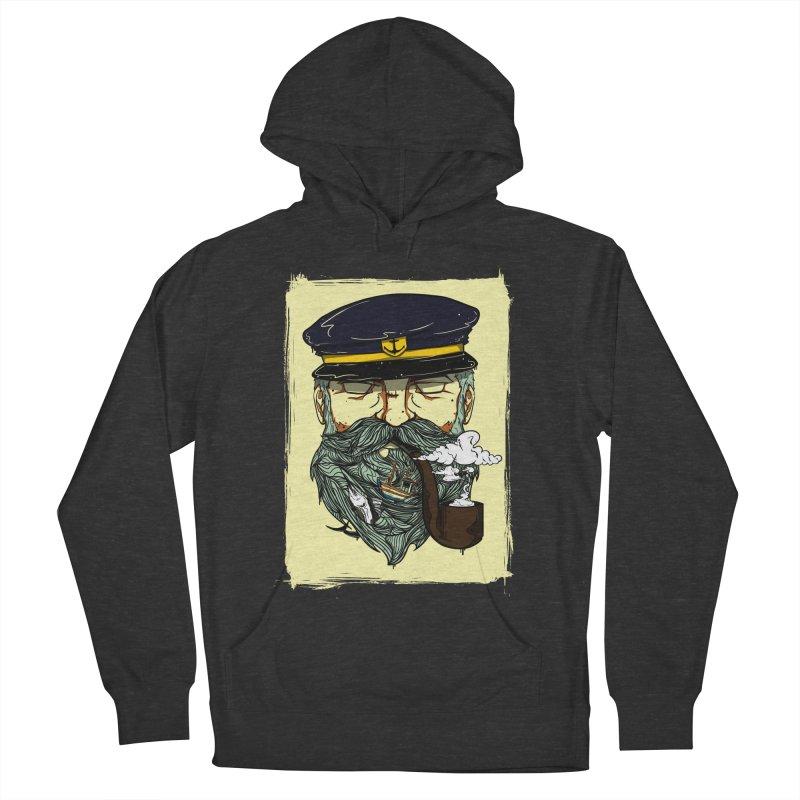 Captain Bluebeard Men's Pullover Hoody by Sebasebi