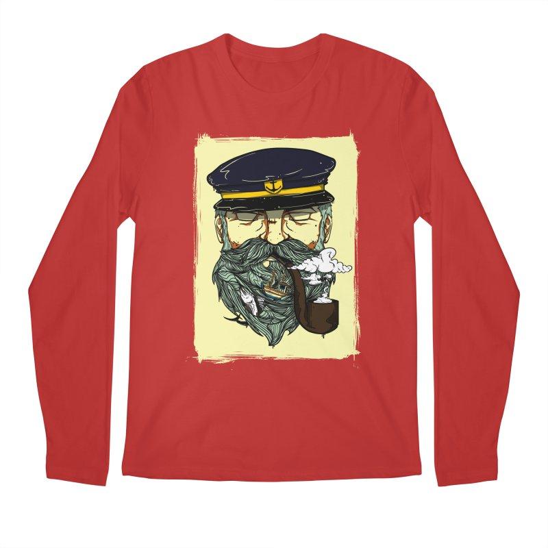 Captain Bluebeard Men's Longsleeve T-Shirt by Sebasebi