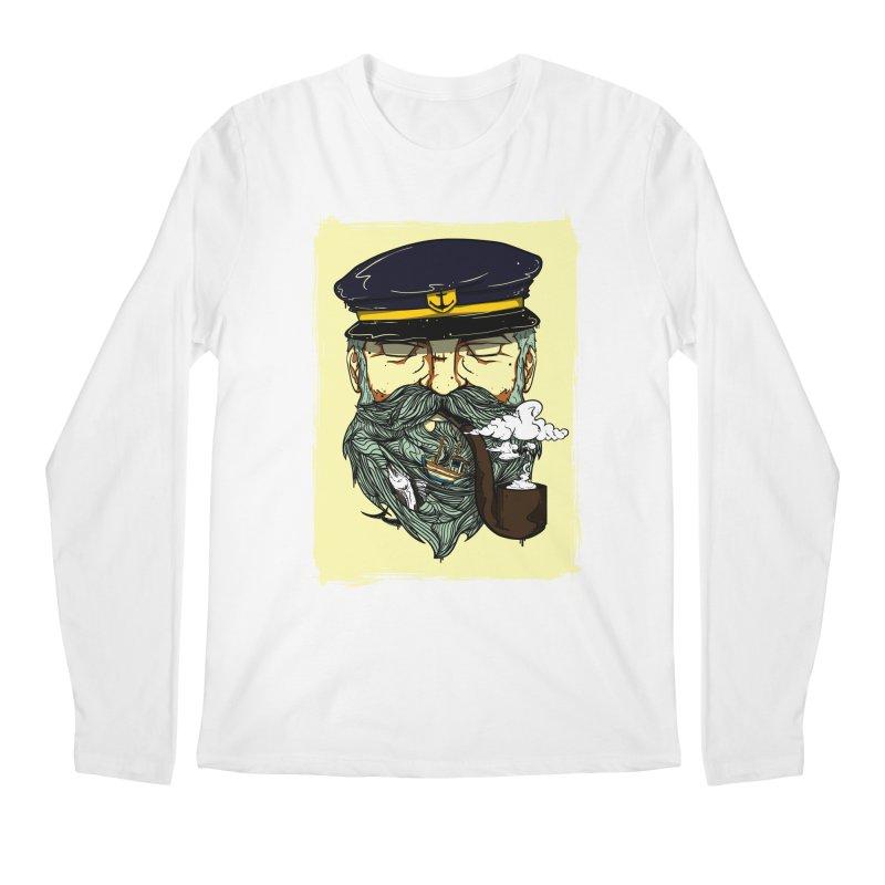 Captain Bluebeard Men's Regular Longsleeve T-Shirt by Sebasebi