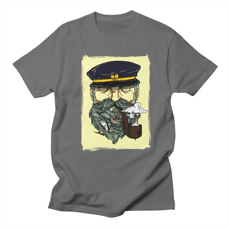 Captain Bluebeard Men's T-shirt by Sebasebi