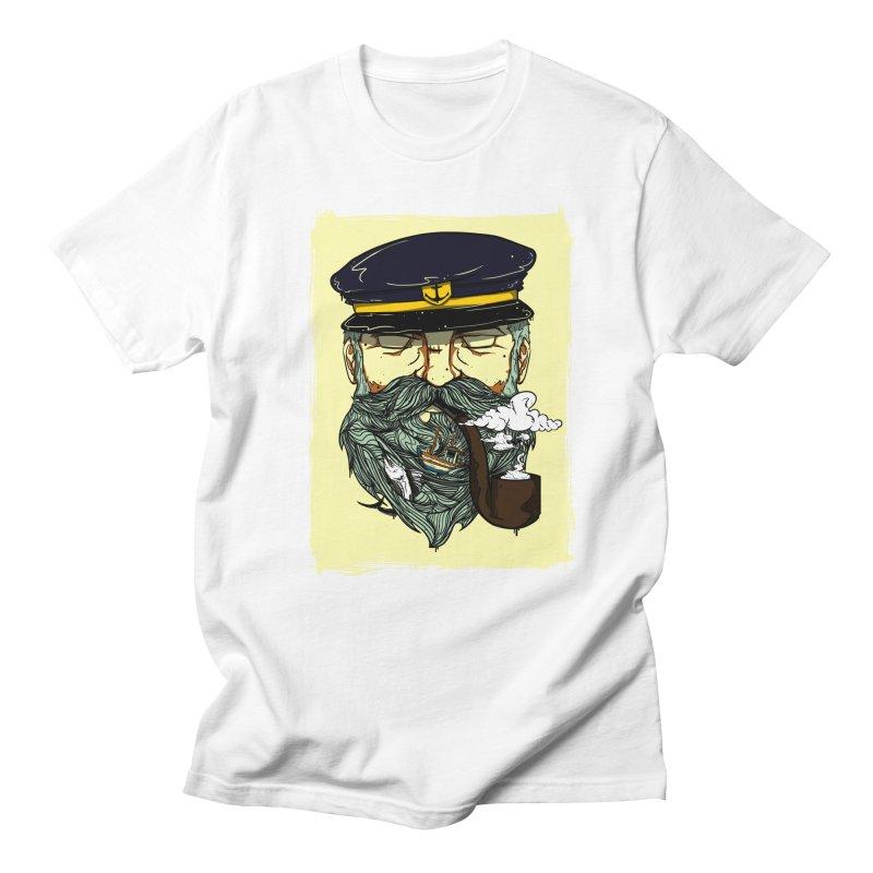 Captain Bluebeard Women's Unisex T-Shirt by Sebasebi