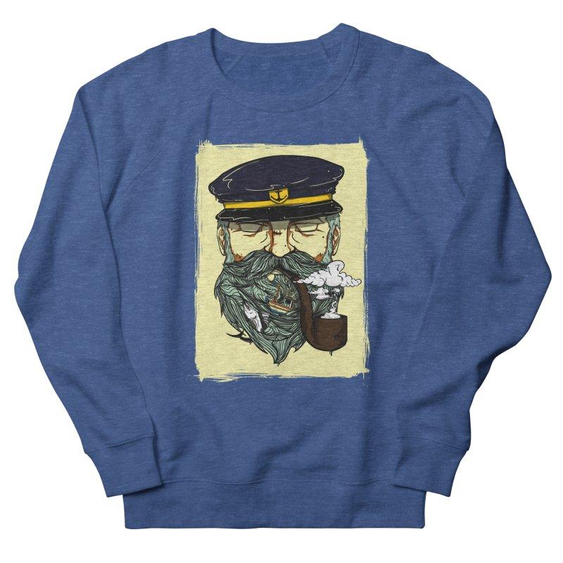 Captain Bluebeard Men's Sweatshirt by Sebasebi