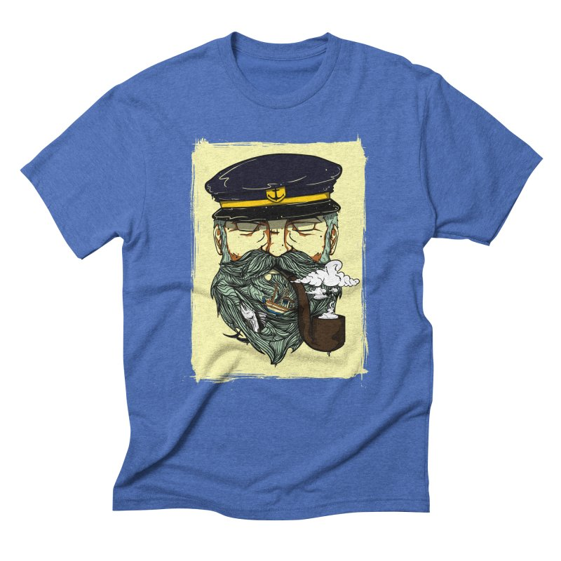 Captain Bluebeard Men's Triblend T-Shirt by Sebasebi