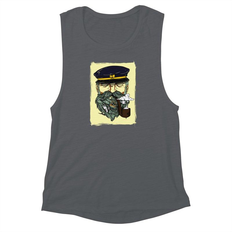 Captain Bluebeard Women's Muscle Tank by Sebasebi
