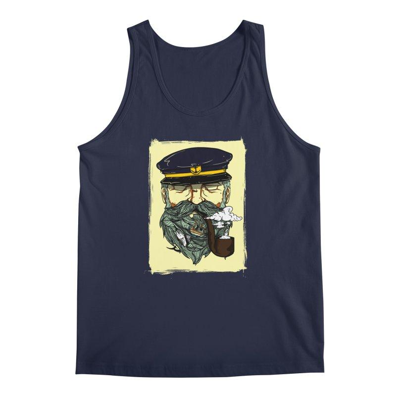 Captain Bluebeard Men's Regular Tank by Sebasebi
