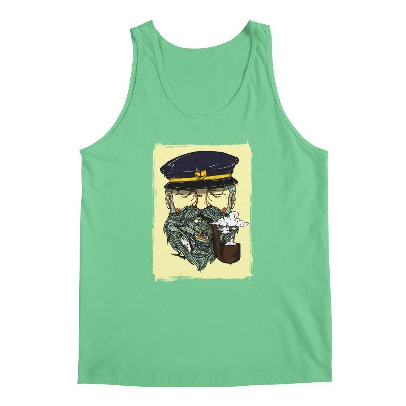 Captain Bluebeard Men's Tank by Sebasebi