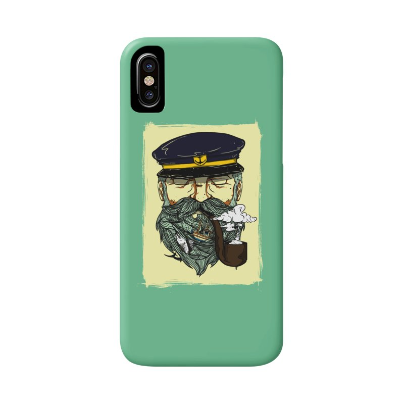 Captain Bluebeard Accessories Phone Case by Sebasebi