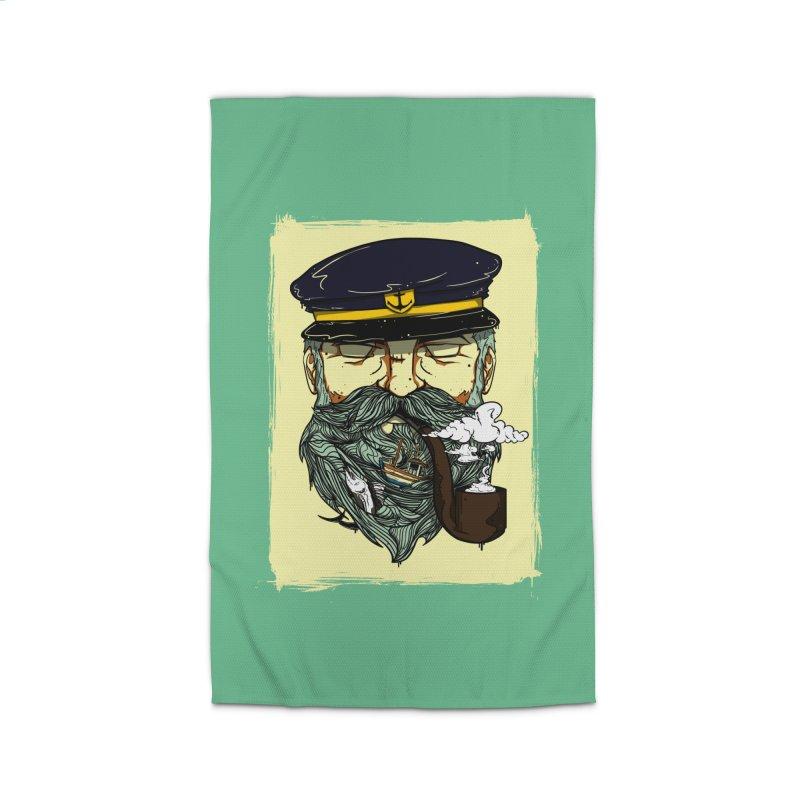 Captain Bluebeard Home Rug by Sebasebi